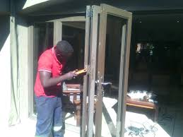 aluminium sliding doors repair