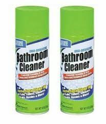 2x non abrasive foam bathroom shower