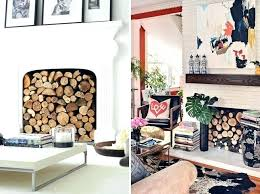 fake fireplace log fake logs fireplace clever ways to decorate your non working fireplace fake log