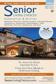 Senior By Design Fort Worth Senior Living Choices Dallas Fort Worth September 2017