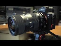 sony a7iii sigma 18 35 art lens autofocus results