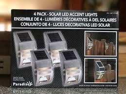 solar led accent lights fence lighting