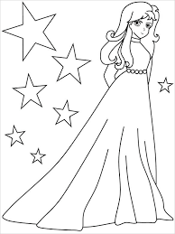 Girls Coloring Pictures Trustbanksurinamecom