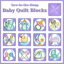 Baby Quilt Blocks Collection - Machine Embroidery Designs Baby ... & Baby Quilt Blocks Collection - Machine Embroidery Designs Adamdwight.com
