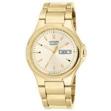 cheap gold citizen quartz watch gold citizen quartz watch get quotations · citizen quartz date day gold tone mens watch