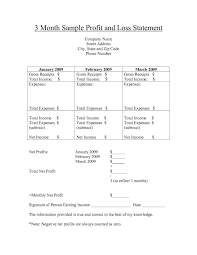 Real Estate Profit And Loss Template Free Profit And Loss Worksheet Claff Co