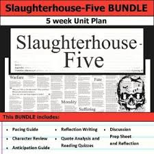 best slaughterhouse five ideas slaughterhouse  slaughterhouse five unit 5 weeks of lesson plans includes pacing guide film essay activities reading quizzes and discussions