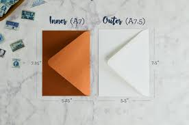 a7 envelopes size do i need double envelopes for my wedding invitations cards