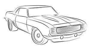 muscle cars drawings. Contemporary Cars Muscle Car Drawing With Cars Drawings Pinterest