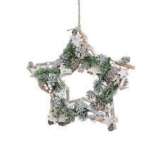 Gw Gmbh Dekokranz Gesteck Weihnachtsstern Sterne Grau Grün