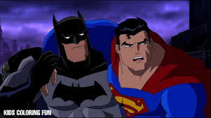 Superman and batman, the two most recognizable characters in comic books, frequently team up to tackle threats that neither of them can handle on their own, each bringing their own special talents to the fore. Batman Vs Superman Coloring Book Pages For Kids For Learning Colors 04 Youtube