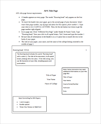Apa Cover Sheet Examples Sample Cover Page Apa Radiovkm Tk