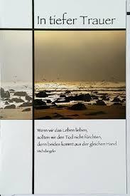 Beileidskarte Kondolenzkarte Mit Michelangelo Zitat Doppelkarten