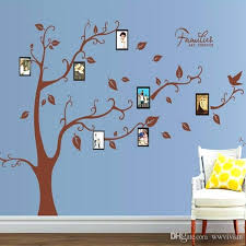 family tree wall art picture frame family tree picture frame wall stickers living room bedroom home family tree wall