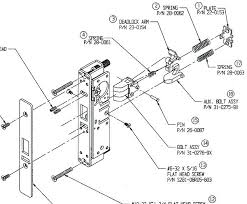 schlage locks parts diagram. Schlage Door Knob Parts Triangulum Info Rh Schlage Deadbolt  Parts Replacement Breakdown Locks Diagram I