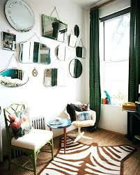 Mirror grouping on wall Elegant Mirror Grouping On Wall Gallery Wall Of Mirrors Adds And Eclectic Yet Functional Spin On Apartment Bradleyrodgersco Mirror Grouping On Wall Bradleyrodgersco