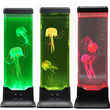 Magiclite Electric Fantasy Jellyfish Lava Lamp With Color Changing Light Effects Jelly Fish Tank Aquarium Night Mood Light For Decoration For Kids Men