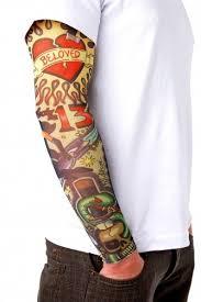 Tetovací Rukáv Skull