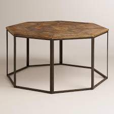 iliana brown and bronze coffee table