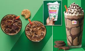Latest dunkin donuts menu prices & calories for their entire menu (updated). Dunkin Donuts Unveils Girl Scout Cookie Flavored Coffee Daily Mail Online