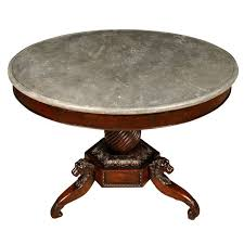 antique marble foyer table antique english marble top round central table fd ftp on round entry