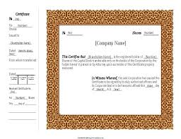 download stock certificate template 40 free stock certificate templates word pdf template lab