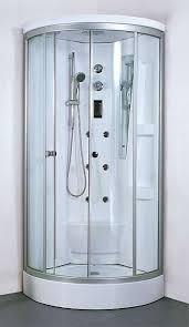 completely enclosed shower enclosure