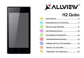 ALLVIEW H2 QUBO USER MANUAL Pdf ...