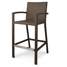 Outdoor Wicker Bar Stools  FoterOutdoor Wicker Bar Furniture
