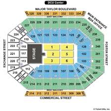 Dcu Center Seating Chart For Concerts Dcu Center Virtual Seating 2019
