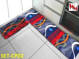1 set home bed entrance kitchen floor rug non slip carpet