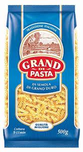 <b>Макаронные</b> изделия <b>Grand di Pasta</b> Fusilli 500г - купить с ...