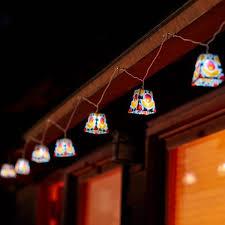 Soji Mod Tulip Solar String Lights