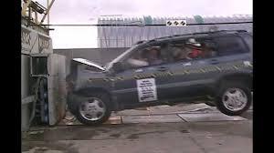 Toyota Highlander   2004   Frontal Crash Test   NHTSA   CrashNet1 ...
