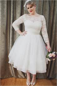 cheap plus size white dresses discount illusion bateau neck long sleeves wedding gowns 2018 short