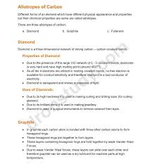 Chapter Notes: Carbon And Its Compounds| Class 10 Science Notes ...