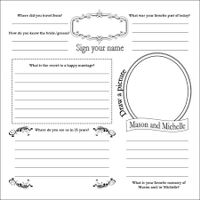 guest book template free diy guestbook pages with madlib wedding diy guestbook i would