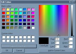To pick a color, you can just click on the region where your desired color   RoomSketcher Match Paint Color Using Custom Color Picker
