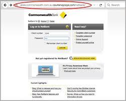 Online 'new Commonwealth Phishing Scam Statement' Bank