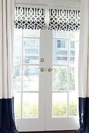 Best 25+ French door curtains ideas on Pinterest | Curtains or blinds for french  doors, Curtain for door window and Door window covering