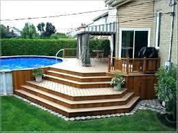 simple pool deck plans. Contemporary Deck Backyard  And Simple Pool Deck Plans A