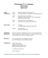 Sample Chronological Resume Free Chronological Resume Template ...