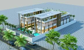 modern restaurant building.  Building Modern Restaurant 3D Model In Restaurant Building T