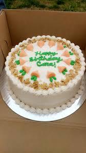 Homemade Carrot Cake Birthday Cake Food