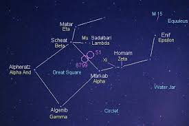 Pegasus Star Chart How To See The Great Square Of Pegasus Astronomy