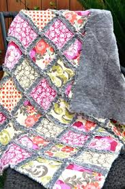 Baby Girl Rag Quilt Instructions Rag Baby Quilts For Sale Rag ... & Baby Girl Rag Quilt Instructions Rag Baby Quilts For Sale Rag Quilt Baby  Blanket Size Sew Adamdwight.com