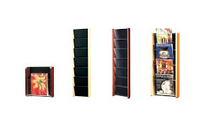 office depot magazine rack. Wall Mounted Magazine Rack Wooden Bathroom Nickel Office Depot . A