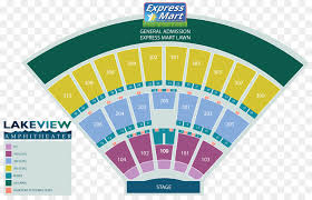 Midflorida Amphitheatre Seating Chart Music Cartoon