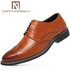 <b>Northmarch Mens Shoes Formal</b> Bullock Carving <b>Mens</b> Leather ...