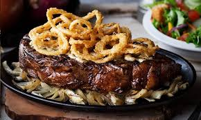 southern style steak house food logan